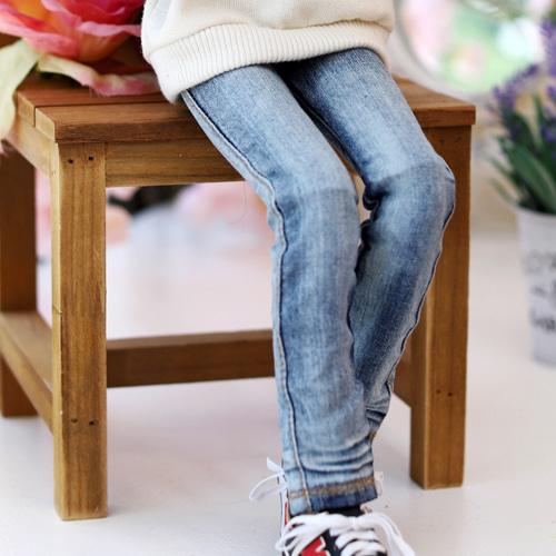 MSD Washing Basic Slim Jeans - Blue - TTYA